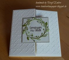 HandWerk aus Papier: Turbo-Hochzeitskarte