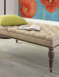 Finish off any room's décor with the Westerfield Tufted Ottoman; an equally versatile and stylish piece that serves as a coffee table or additional seating.