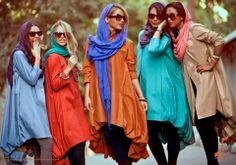  interesting female #fashion from #iran. like the...