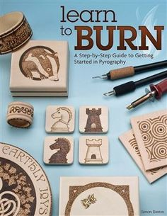 """Known as pyrography, which literally means """"writing with fire,"""" woodburning is a rewarding art that is practically infinite in its applications. This book shows you everything you need to get started in this fun and expressive craft."""