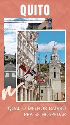 Localização, preço, segurança e proposta. Saiba qual bairro escolher pra se hospedar em Quito. Dicas de hostels e hotéis com preços e nota de avaliação Ecuador, Equador Quito, Mansions, House Styles, Exterior, Blog, Travel Guide, Travel Ideas, Wonderful Places