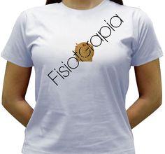 Camiseta Fisioterapia - Baby-look