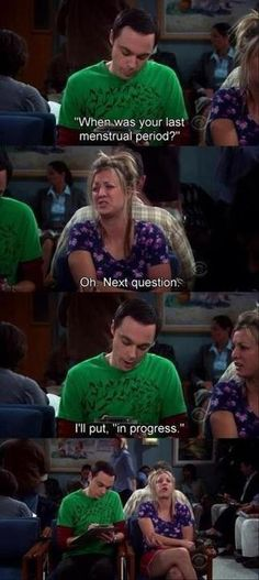 Gotta love Sheldon!