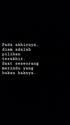 Quotes indonesia cinta baper 60 ideas for 2019 Quotes Rindu, Hurt Quotes, Words Quotes, Life Quotes, Cinta Quotes, Quotes Galau, Postive Quotes, Reminder Quotes, Simple Quotes