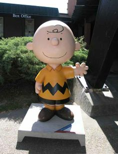 These statues are decorated and scattered throughout Sonoma County, a legacy to Charles Schulz and his museum in Santa Rosa, CA http://schulzmuseum.org/
