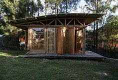 Student designed bamboo project | Bamboo Love Shack