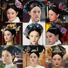 . Asian Hair Accessories, Empresses In The Palace, The Empress Of China, Costume Collection, Princesa Diana, Chinese Clothing, Qing Dynasty, Hanfu, Traditional Dresses