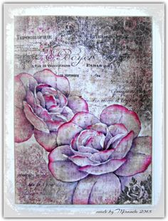'Mir'acle Art Inspirations: More Rose inspirations.....