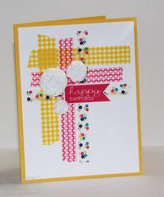 Jill's Card Creations: Washi Tape WOW
