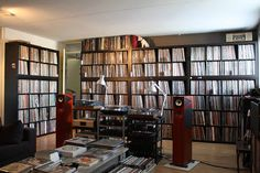 Record collection and the right equipment to play them!!