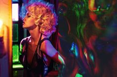 Match Lindsey Wixson by Sebastian Faena for Interview Germany February 2014 issue Sebastian Faena, Lindsey Wixson, V Magazine, Love Games, Studio 54, Headspace, Curls, Interview, Hollywood
