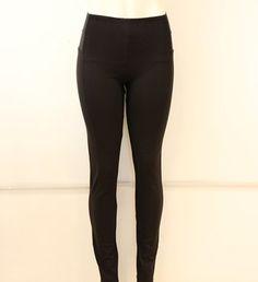 #legging negro con #resorte alos #lados y #tiro alto