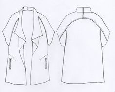 Sydney Jacket Pattern - Patterns - Tessuti Fabrics - Online Fabric Store - Cotton, Linen, Silk, Bridal & more