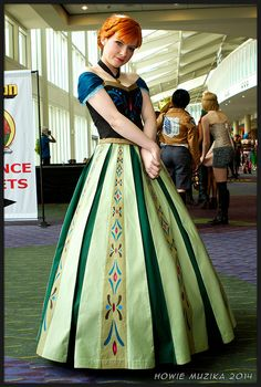 MegaCon 2014 - FROZEN - ANNA
