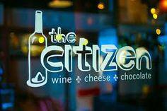 A wine, cheese & chocolate bar