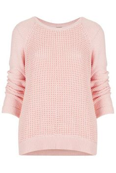 Knitted Mix Stitch Jumper - Knitwear  - Clothing
