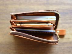 Pocket multi-case (GS-32) | Organ (organ)Pocket multi-case | Leather Minerva Liscio W10.5cm × H7cm × D2cm / 7,560 yen