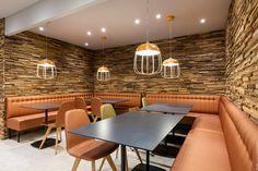 Danone- Paris 9ème Aménagement restaurant ©BleuVertConcepts ...