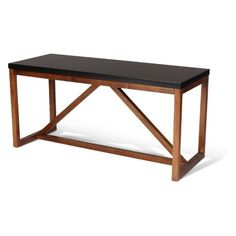 Minimalist design makes the Uniek Kate and Laurel Kaya Wood Bench a practical additional to any room. Built to last, this bench is constructed from. Dining Room Furniture Sets, Entryway Furniture, Bench Furniture, Home Office Furniture, Accent Furniture, Cool Furniture, Entryway Stairs, Second Hand Furniture, Living Room Decor