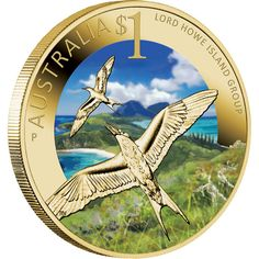 2012 Australia Lord Howe Island Group $1 Carded UNC Coin Perth Mint
