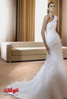 فساتين زفاف بسيطة صور فساتين زفاف لعروس 2013