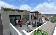 Render terrazza