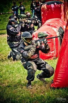 Paintball! everybody always tells me that after playing paintball i would have…