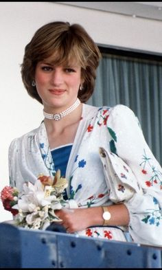The Princess of Wales leaves Gibraltar for her honeymoon cruise on board the Royal Yacht Britannia, July She wears a dress by Donald Campbell. (Photo by Jayne Fincher/Princess Diana Archive/Getty Images) Princess Diana Quotes, Princess Diana Jewelry, Princess Diana Fashion, Princess Diana Pictures, Princess Diana Wedding, Lady Diana Spencer, Spencer Family, Jessica Stam, Royal Princess