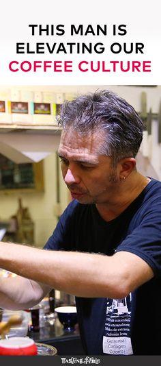 Meet David Arzayus of Café del Mural in Cartagena, Colombia, who's brewing great…