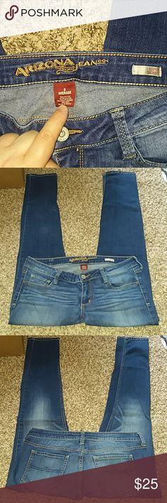 I just added this listing on Poshmark: Sz 9 Average Arizona Super Skinny jeans. #shopmycloset #poshmark #fashion #shopping #style #forsale #Arizona Jean Company #Denim