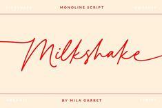Design Tutorials, Milkshake, Lightroom Presets, Script, Clip Art, Modern, Smoothie, Script Typeface, Trendy Tree