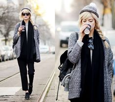 Ebba Zingmark - Monki Jacket, Borrowed Hat, Gentle Monsters Sunglasses - DAYLIGHT