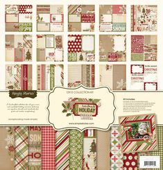 Simple Stories | Handmade Holiday | 12x12 Collection Kit