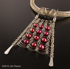 Viking Knit Pendant - Flat! | JewelryLessons.com
