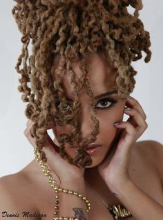 If I could have locs this long and this color...*sigh*...you couldn't tell me NOTHING!