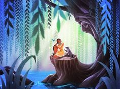"Pocahontas Grandmother Willow | My Pocahontas piece,""In the Shade of Grandmother Willow"", will be ..."