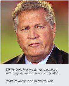 ESPN's Chris Mortensen Takes Break to Tackle Throat Cancer.