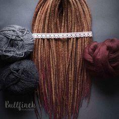 Wool dreads :) more in my Etsy https://www.etsy.com/shop/BullfinchHandmade  #dreadlocs #dreadslocks #dreads #dreadlocks #wooldreads #wooldreadlocks #woolies #wool #handmadedreads #handmade #felting