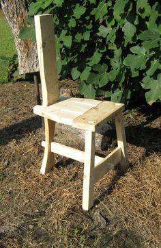 5th C Irish Tuam (camp chair) w/link to pattern:
