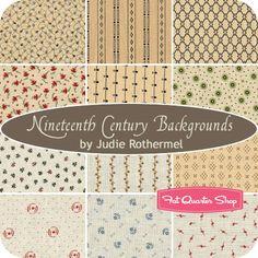 Nineteenth Century Backgrounds Yardage Judie Rothermel for Marcus Brothers Fabrics