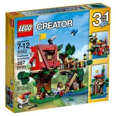 $48.90 for 3 Lego Creator sets at Target - Treehouse Adventures Lakeside Lodge and Propeller Plane #LavaHot http://www.lavahotdeals.com/us/cheap/48-90-3-lego-creator-sets-target-treehouse/152439?utm_source=pinterest&utm_medium=rss&utm_campaign=at_lavahotdealsus