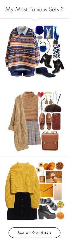 """""""My Most Famous Sets ♥"""" by shyanimallover5 ❤ liked on Polyvore featuring Biba, Pierre Hardy, Accessorize, Marc Jacobs, Exclusive for Intermix, Dorothy Perkins, Chicnova Fashion, The Cambridge Satchel Company, Gap and Dorfman Pacific"""