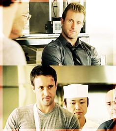 McDanno eyes only for each other.