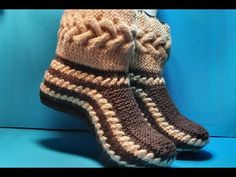 Crochet Shoes Pattern, Shoe Pattern, Crochet Bowl, Filet Crochet, Knitted Slippers, Mens Slippers, Embroidered Christmas Stockings, Crochet Sandals, Knit Shoes
