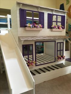 The Ultimate Cottage Bed/ Playhouse by Dangerfield Woodcraft