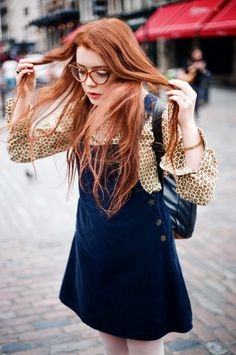Classy Fashion Outfits For Redheads: The jury is out on whether redheads can wear red or not but that never stops some of them from going ahead and rocking Ginger Hair, Redheads, Red Hair, Dress Up, Vogue, Fashion Outfits, Women's Fashion, Street Style, Style Inspiration