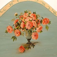 lovely painted flowers