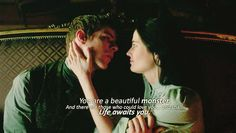 This part truly made me cry, she's got such a beautiful soul, Vanessa and Victor Frankenstein