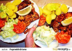 Vynikající kapr recept - TopRecepty.cz Cobb Salad, Sushi, Sushi Rolls