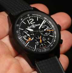 Bell & Ross BR 126 Flyback Watch Hands-On Hands-On